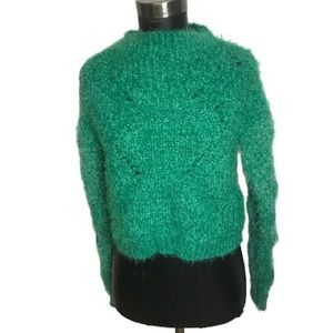 Love By Design Green Cozy Sweater